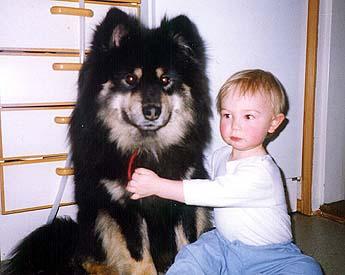 Lecibsin Kultakuono and our son Miska