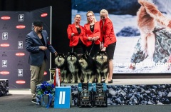 Kennel Peikkovuoren BIS2 BREEDER at Jyväskylä INT 2019